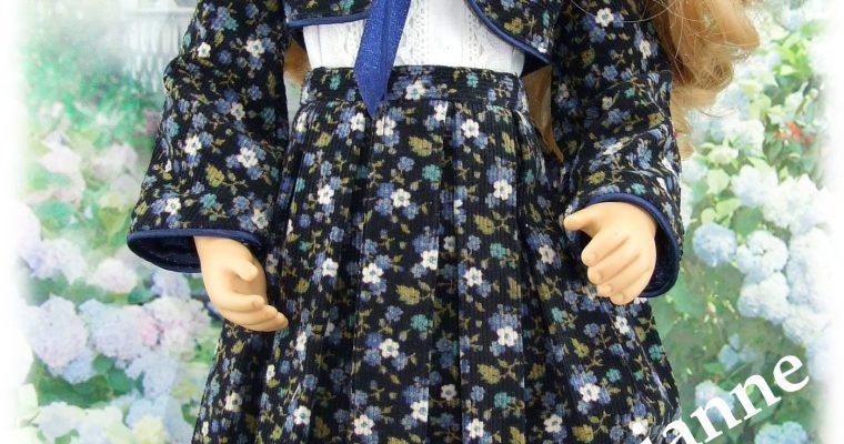 Tenue Elisa pour poupée Finouche