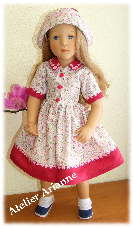 Tenue Adele pour poupée Finouche
