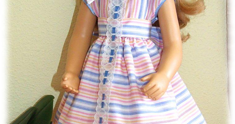 Tenue Anaïs pour poupée Finouche