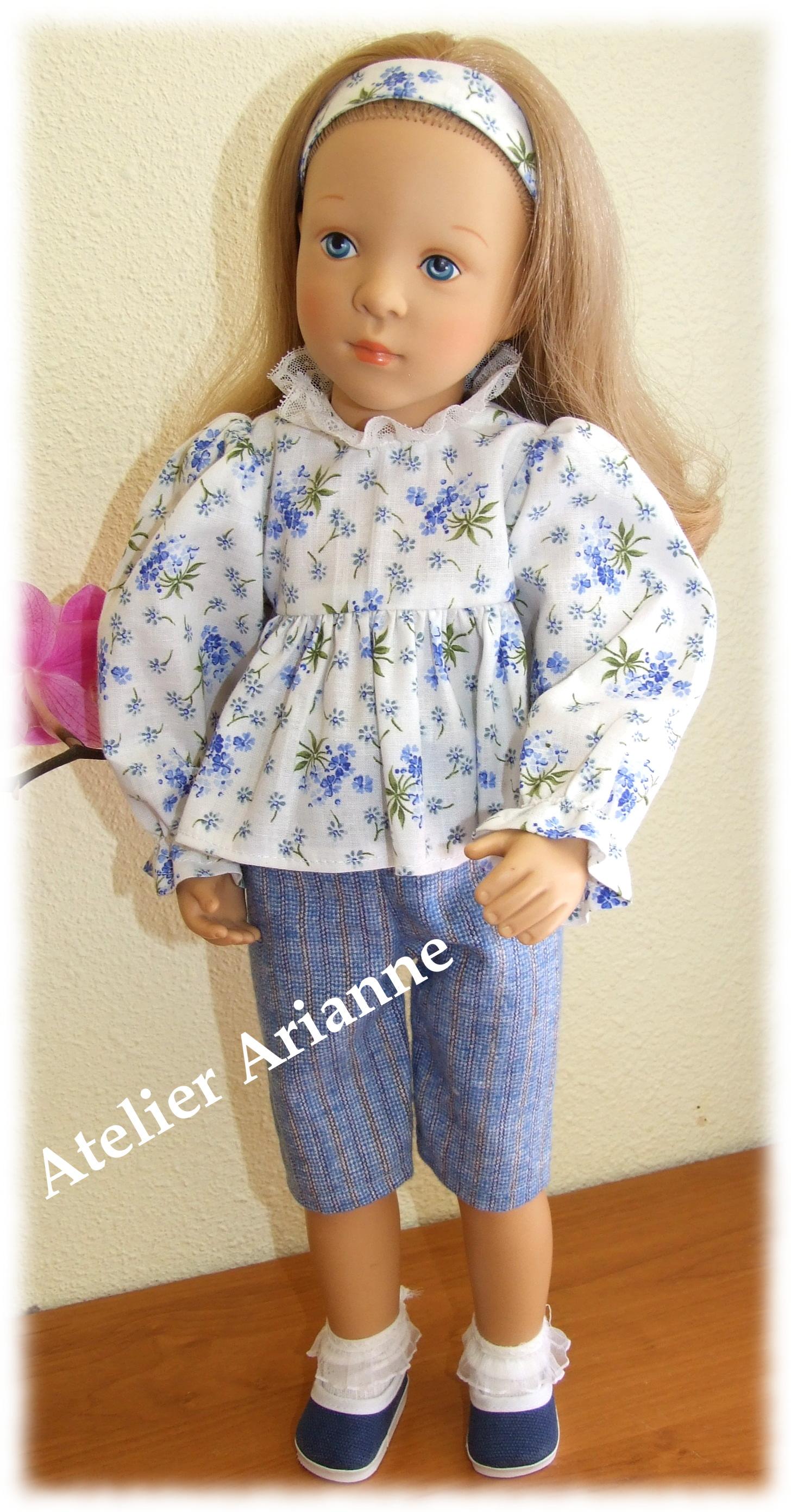 Tenue Jenny pour poupée Finouche