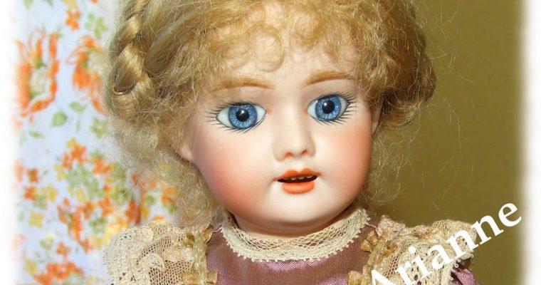 Voilà Mademoiselle Bleuette !