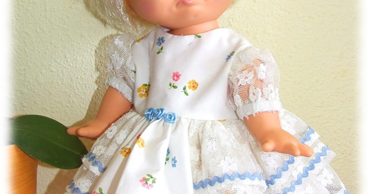 Tenue Éloïse pour poupée Baby Face 33 cm