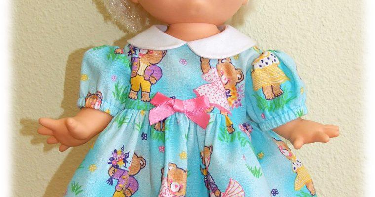 Tenue Bonnie pour poupée Baby Face 33 cm et Muller Witchel :-)