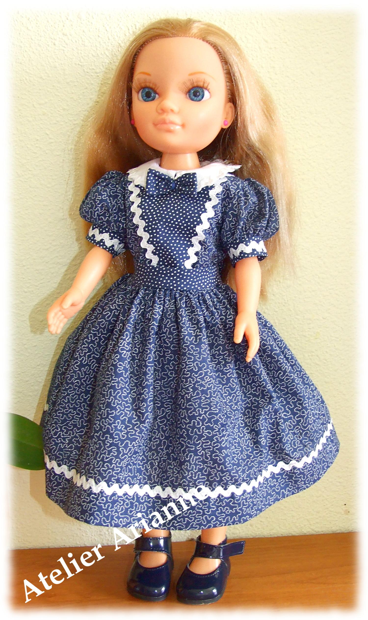 Tenue Joëlle pour poupées Starlette, Cathie de Bella et Nancy de Famosa