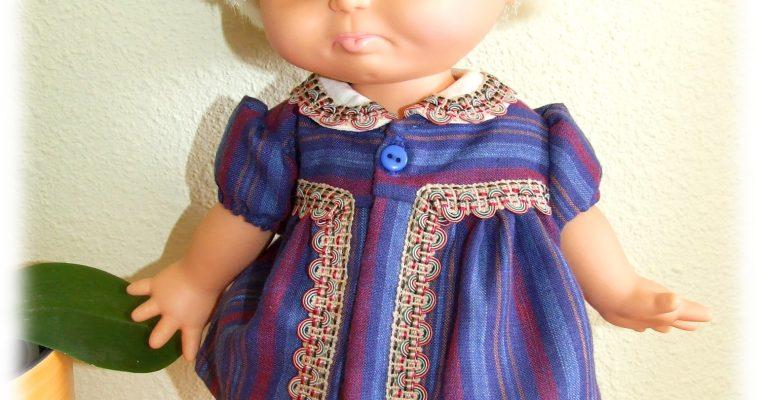Tenue Antoine pour baigneurs et poupées 30-35 cm Baby Face, Muller Witchel