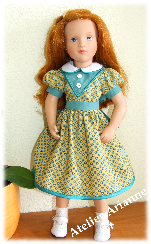 Tenue Rafaelle pour poupées Starlette 46, Cathie de Bella 48 et Nancy Famosa 42