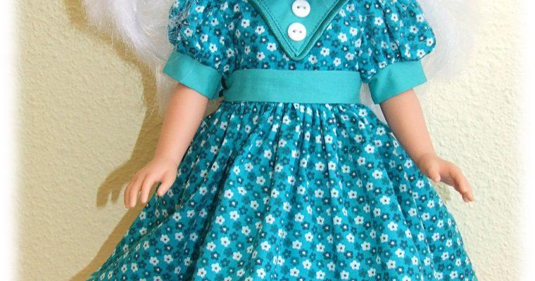 Tenue Rafaelle pour poupées Vidal Royas et Nancy Famosa