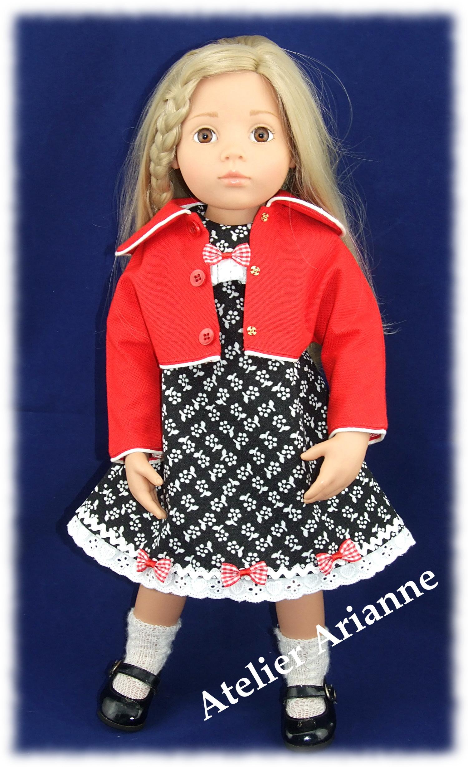 Emily de Gotz en tenue Bagatelle