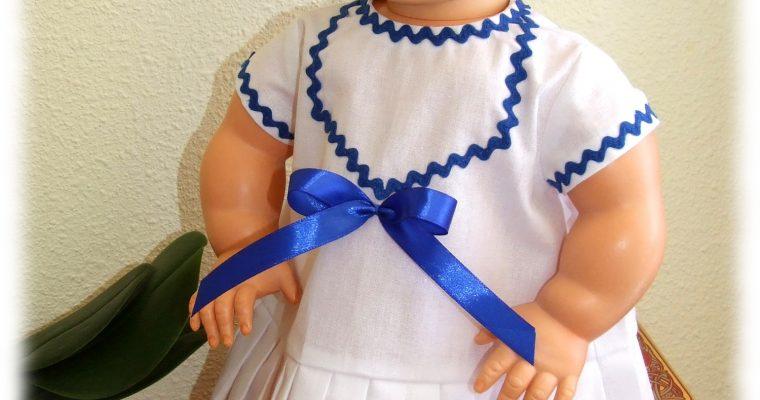 Tenue Clara pour poupée Bella 48 cm