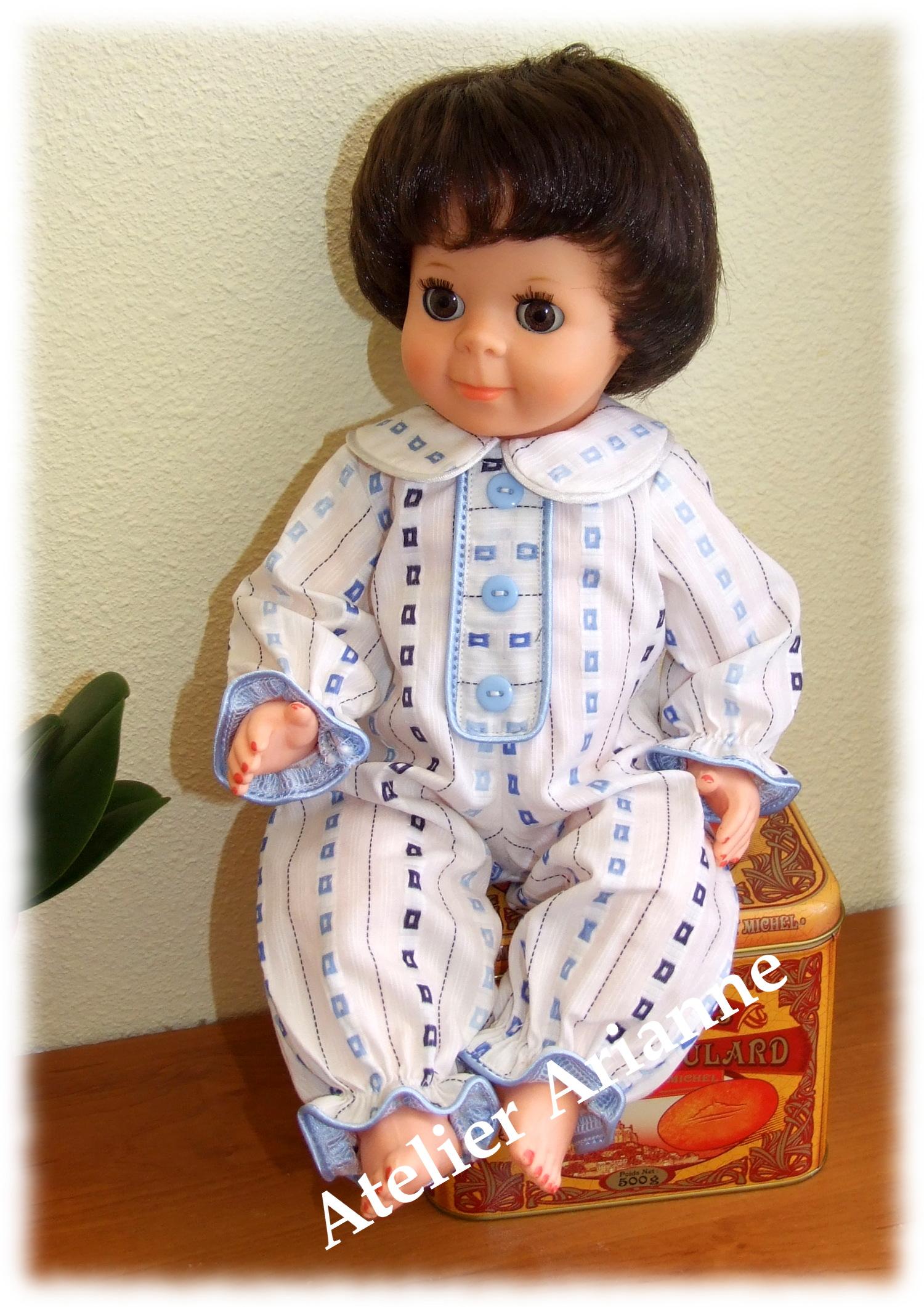 Tenue Décembre 1966 pour poupée de Modes et Travaux Michel, Jean-Michel