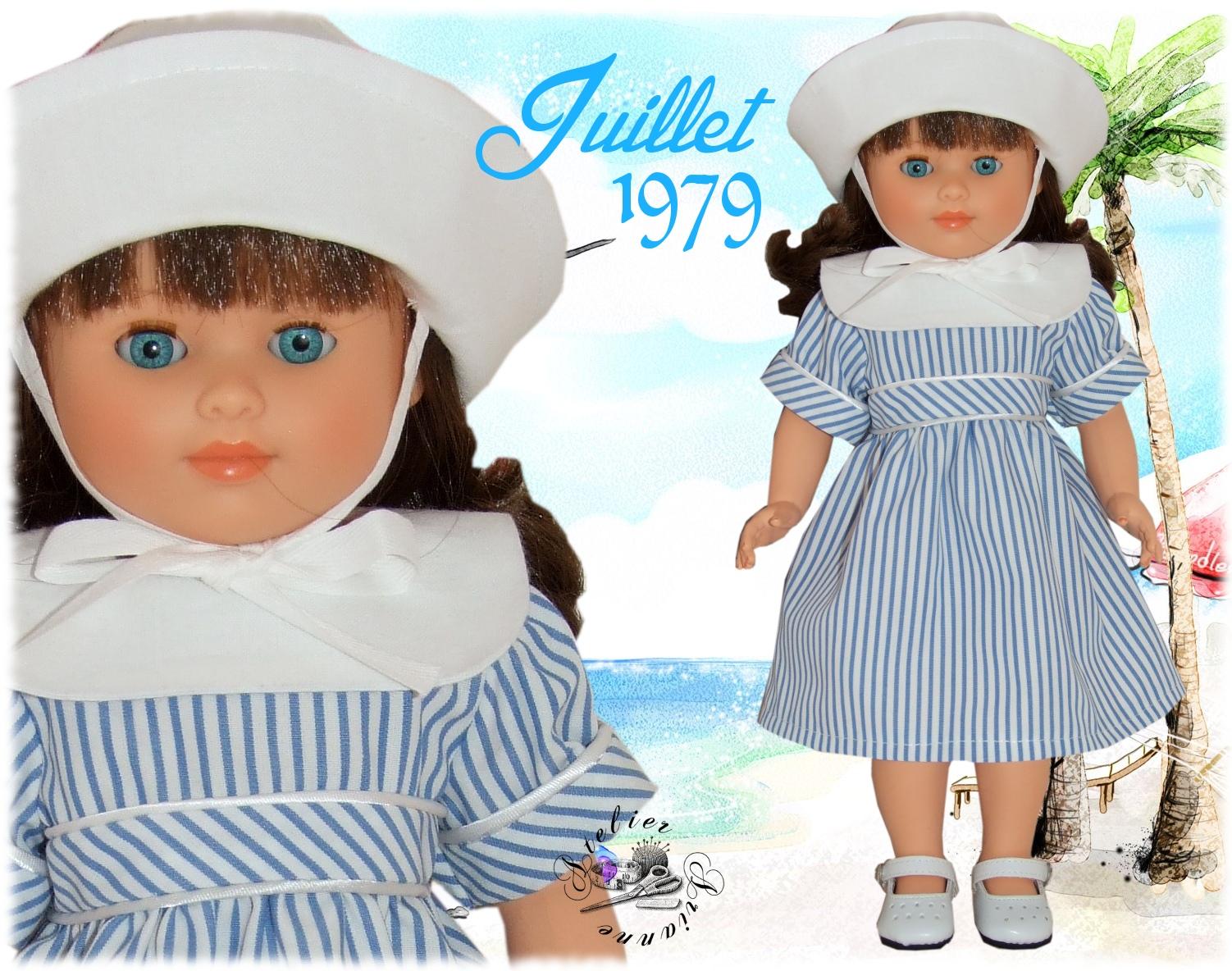 Tenue Françoise ou Marie-Françoise Juillet 1979