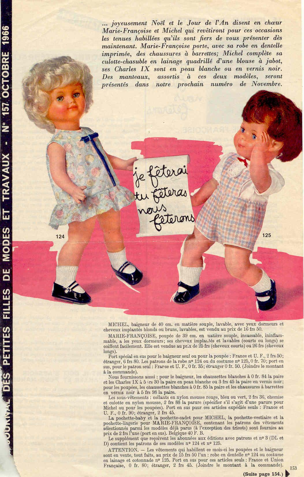 Page de Modes et Travaux Octobre 1966