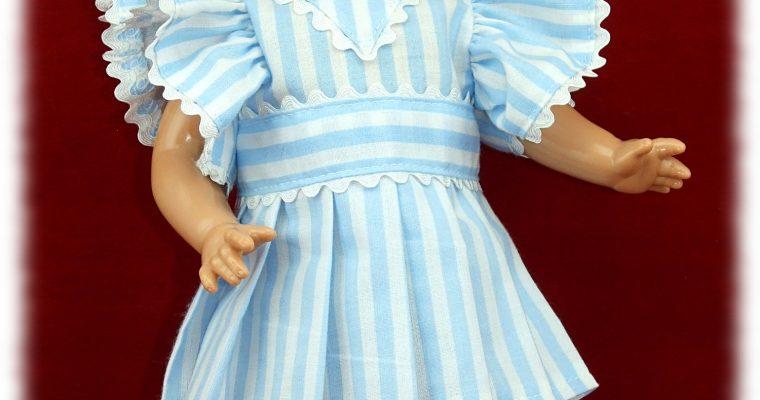 Tenue Thérèse pour poupée GéGé Joselyne ou Patsy 33 cm