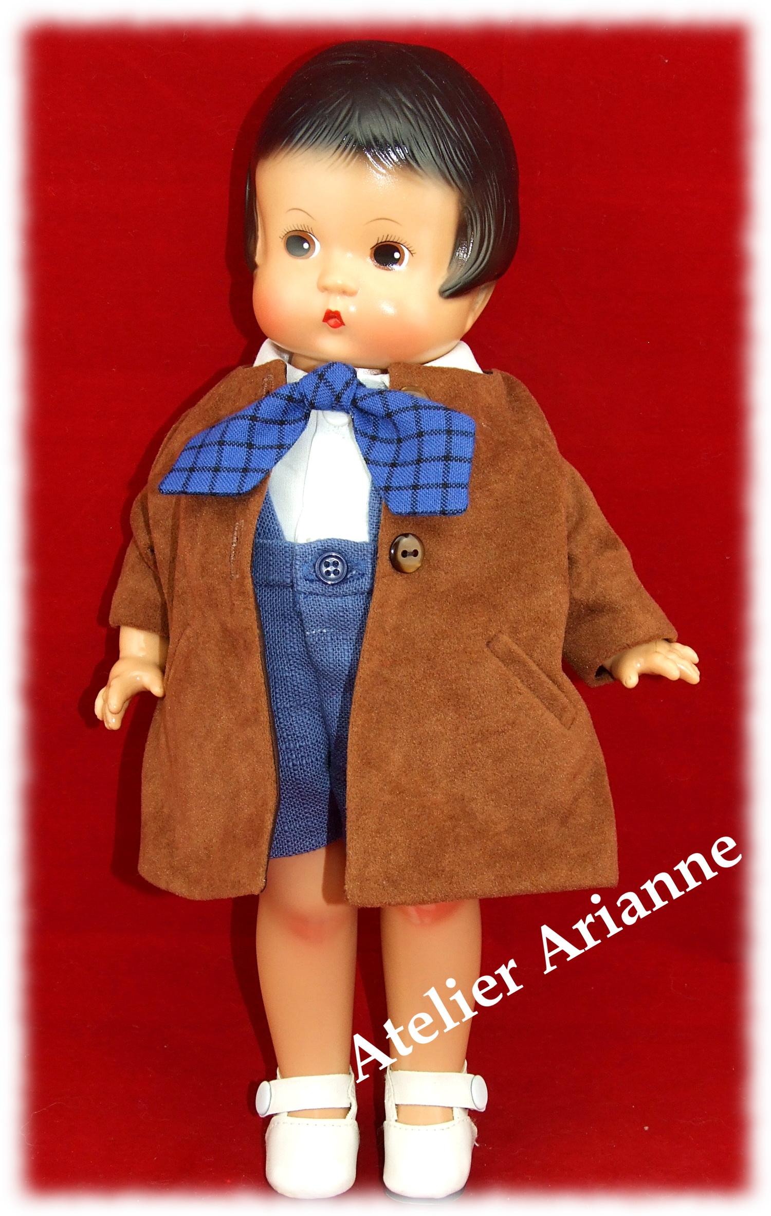 Tenue Vincent pour poupée Skippy ou Patsy 33 cm