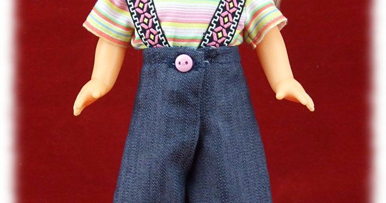 Reproduction tenue Alejandra pour poupée Lesly de Famosa 30-31 cm