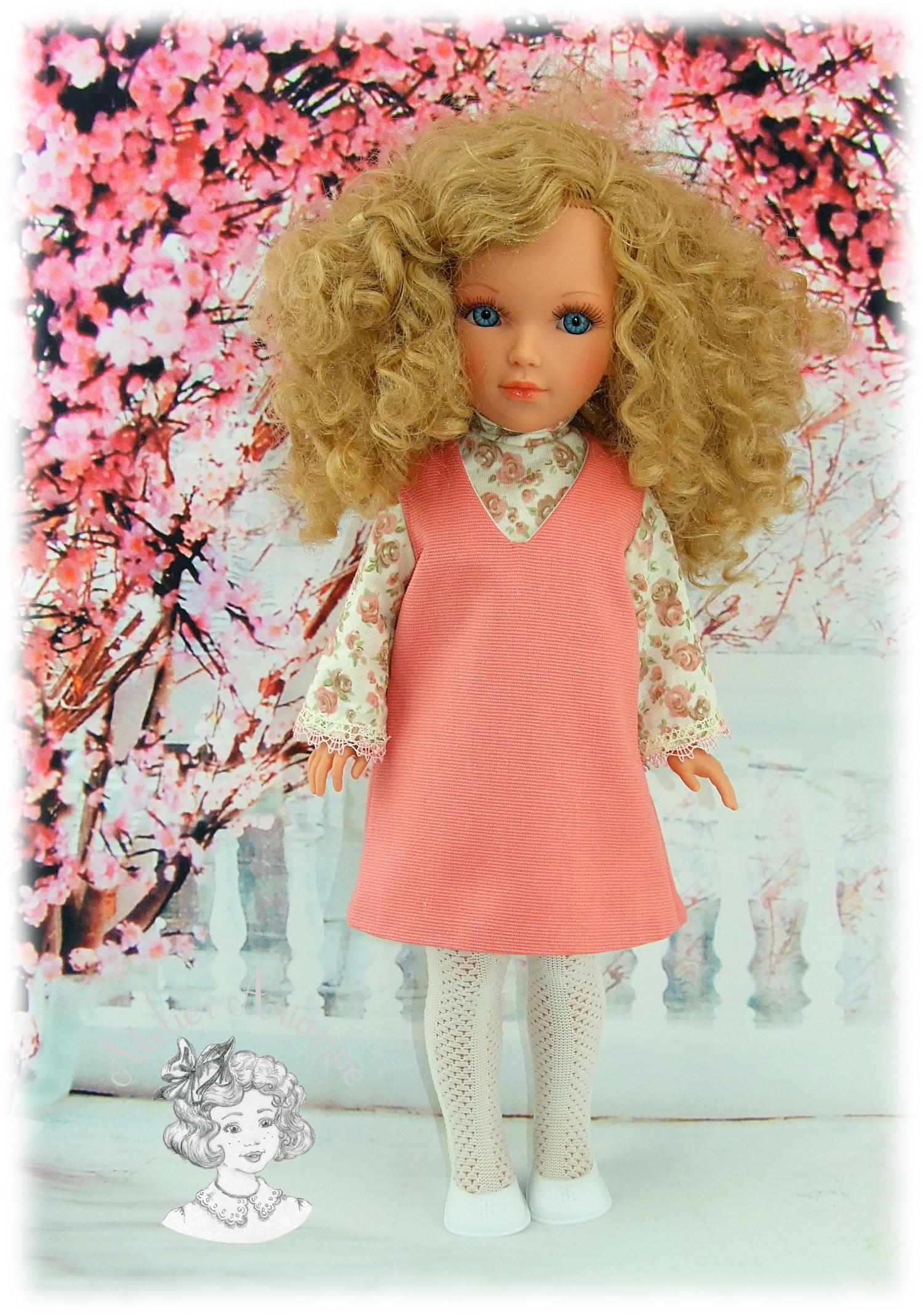 Robe Suzie pour poupées Nancy de Famosa et Vidal Rojas