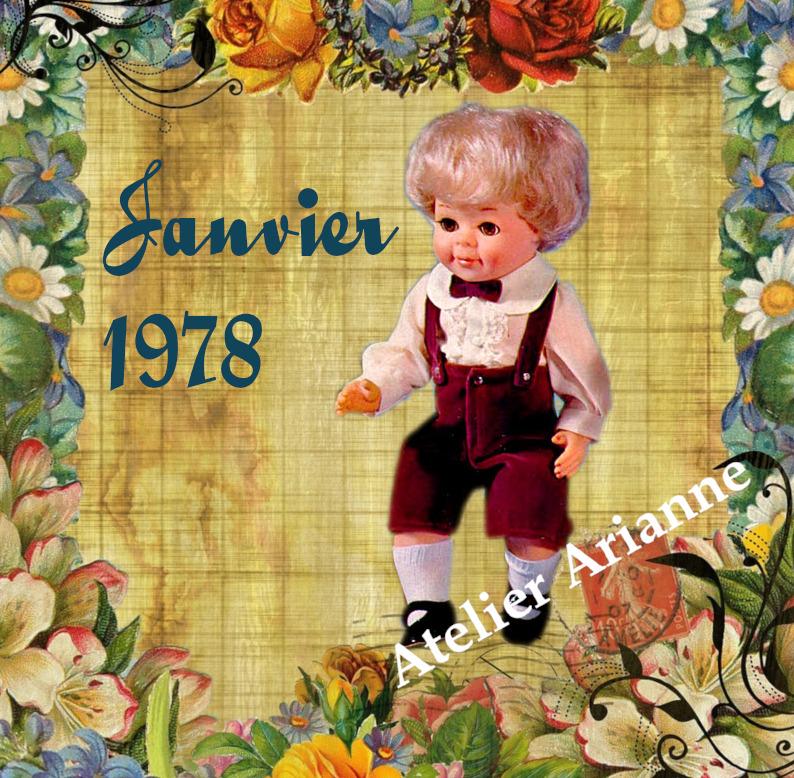 Tenue Modes et Travaux Janvier 1978 Michel et Jean-Michel
