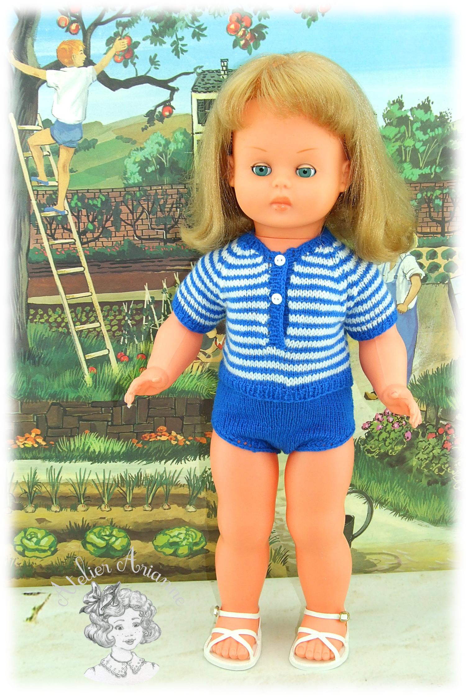 Andrea tenue pour poupée GéGé 56 cm
