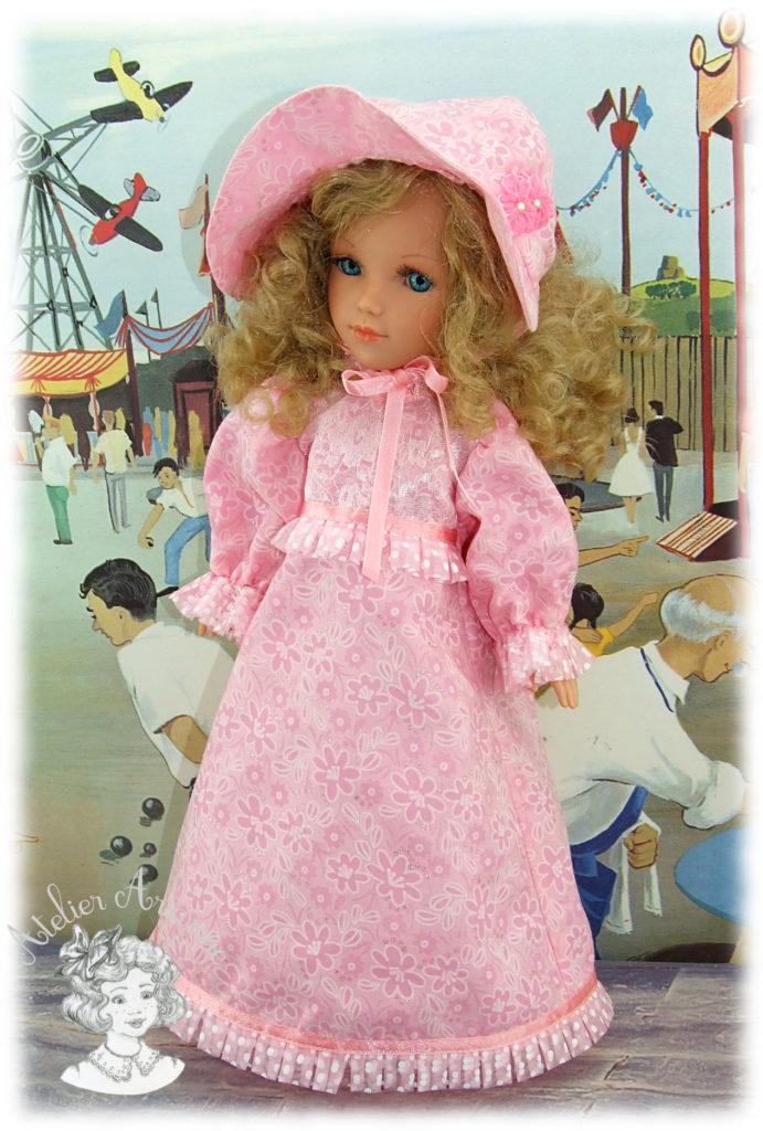 Ludivine Tenue pour poupées Ari ou Vidal Royas