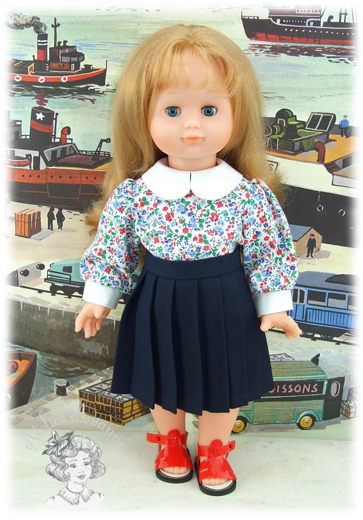 Chemises à manches bouffantes pour poupées de Modes et Travaux