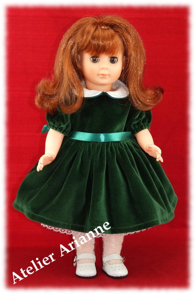 Tenue pour poupée Françoise de Modes et Travaux-Décembre 1951