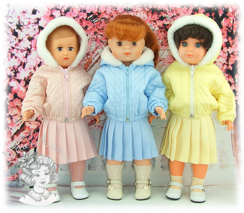 Tenue pour poupée Marie-Françoise de Modes et Travaux – Janvier 1961