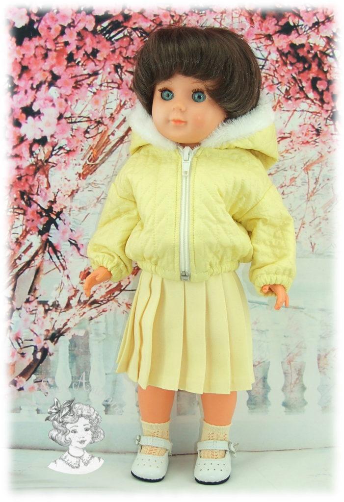 Tenue pour poupée Marie-Françoise de Modes et Travaux - Janvier 1961