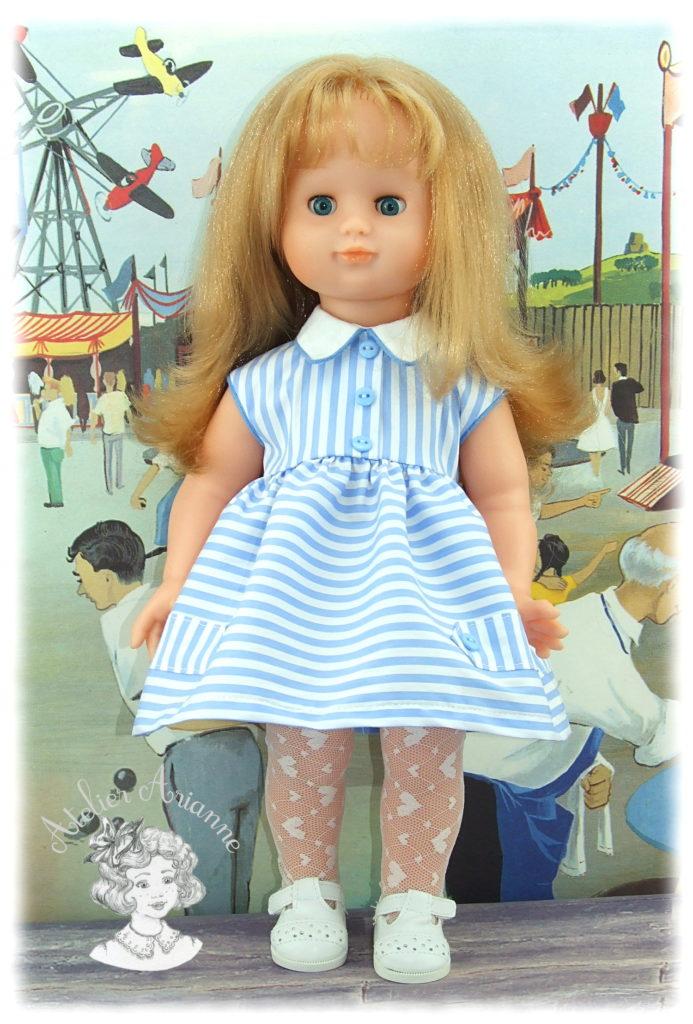Juin 1957 pour poupée Modes et Travaux