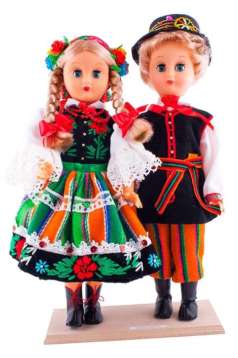 Comment identifier une poupée régionale polonaise ?