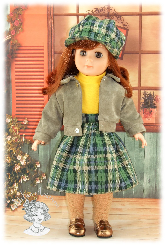 Septembre 1983 – Tenue pour poupée Marie-Françoise de Modes et Travaux