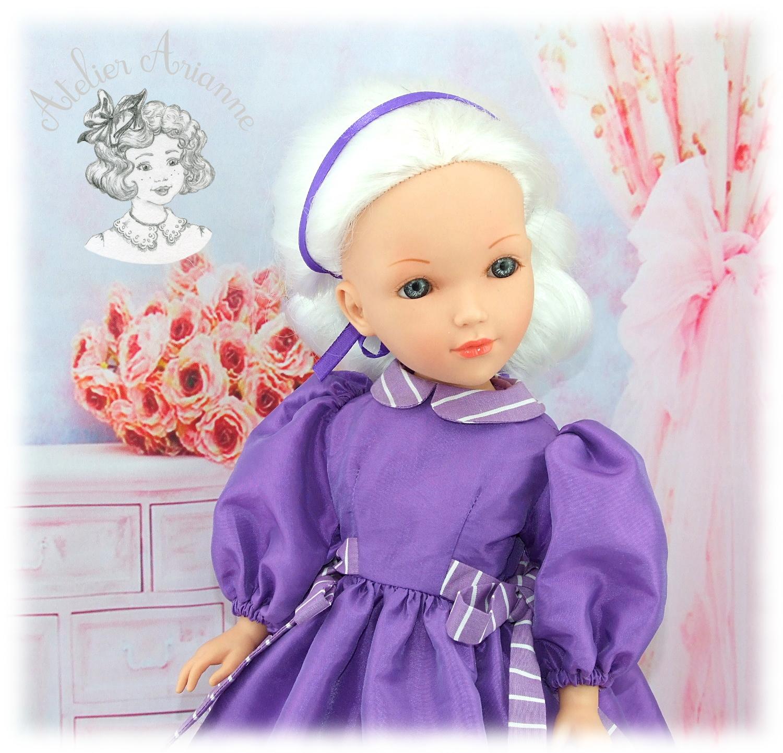 Viviane-Tenue pour poupée Vidal Rojas