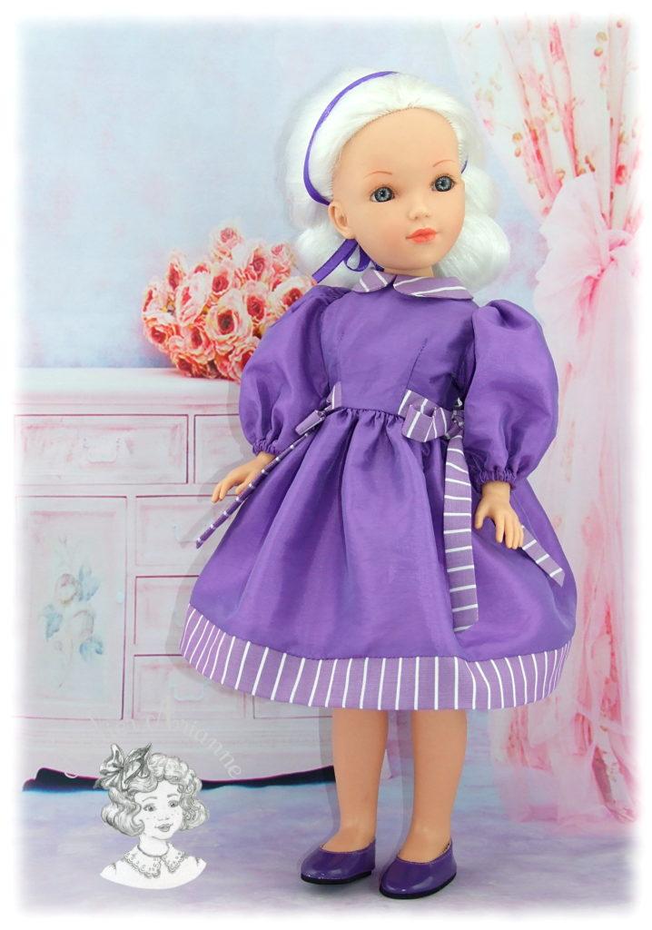 Viviane tenue pour poupée Vidal
