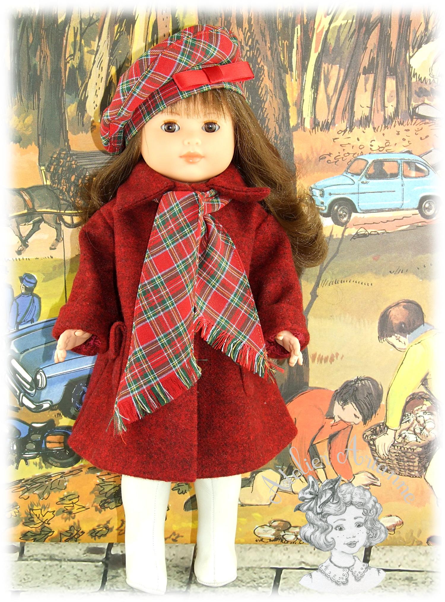 Tenue pour poupée Françoise, Marie Françoise de Modes et Travaux Mars 1952