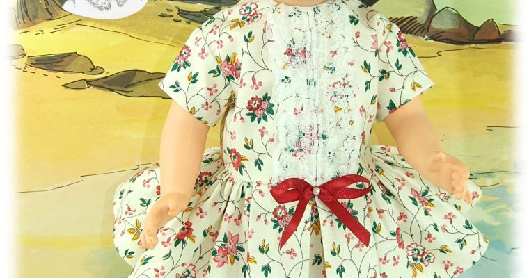 Esi – Tenue poupée Marie-Françoise de Modes et Travaux