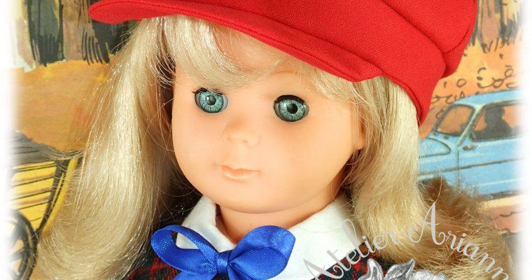Gavroche Septembre 1983 pour poupée Marie-Françoise de Modes et Travaux