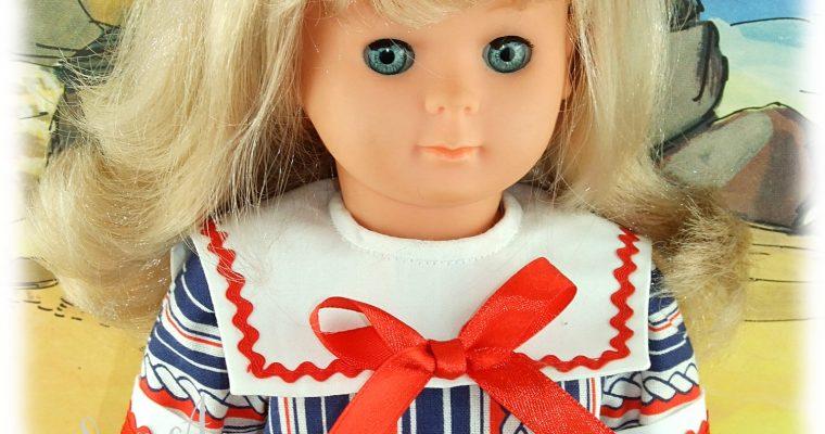 Modèle exclusif – Tenue pour poupée Elisabeth de Modes et Travaux – Mai 1986