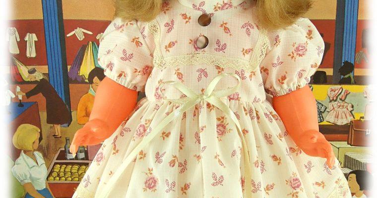 Monique – tenue pour poupée GéGé 56 cm