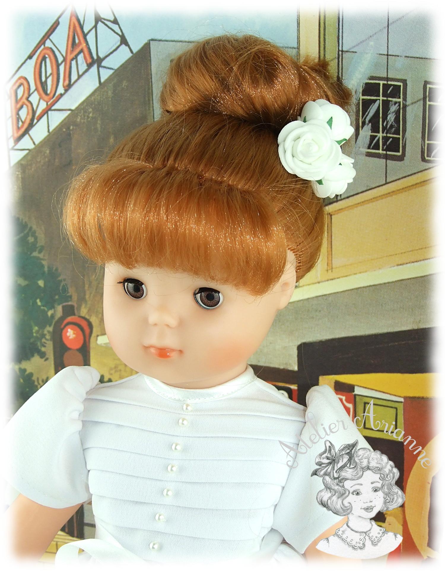 Solange tenue pour poupée Elisabeth de Modes et Travaux