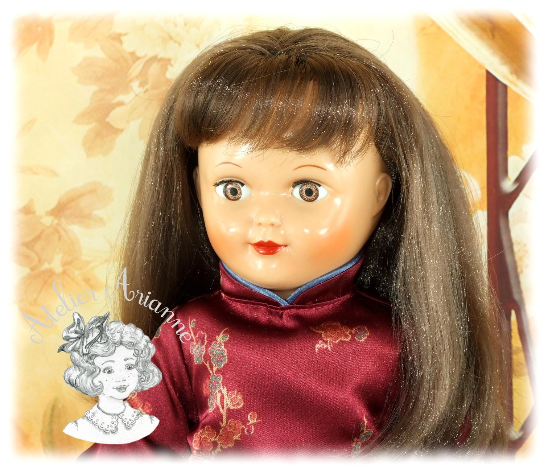 Vietnamienne – tenue pour poupée Marie-Françoise Modes et Travaux