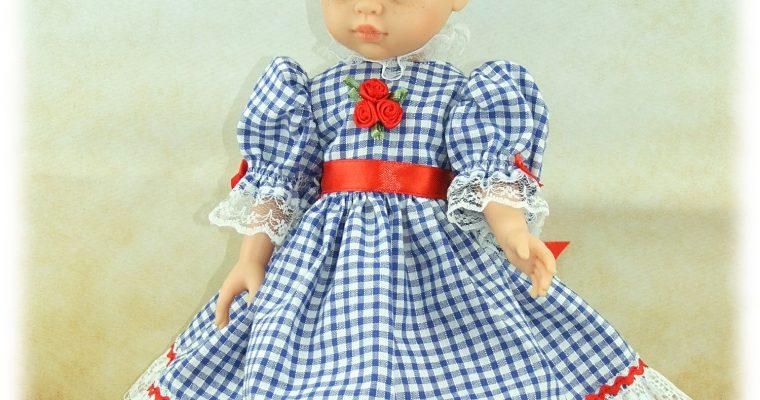 Tenue Dorothée pour poupée Paola Reina et Chérie de Corolle
