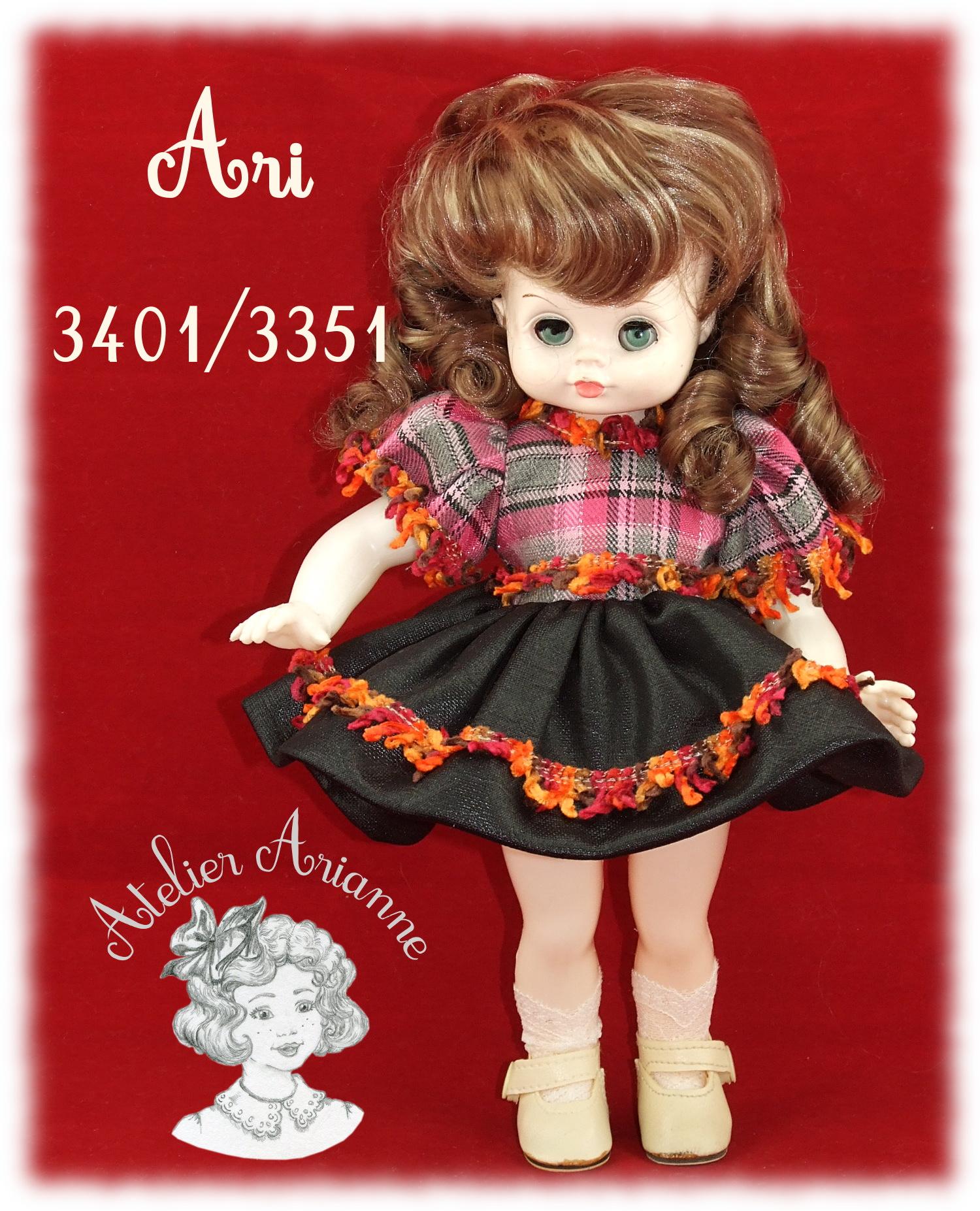 POUPÉE ALLEMANDE – ARI 3401-3351