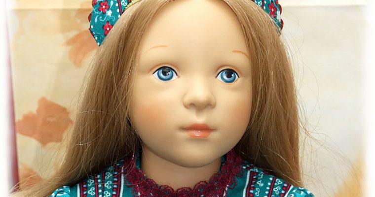 """Modèle  unique """"Petrograd"""" – tenue pour poupée Finouche"""