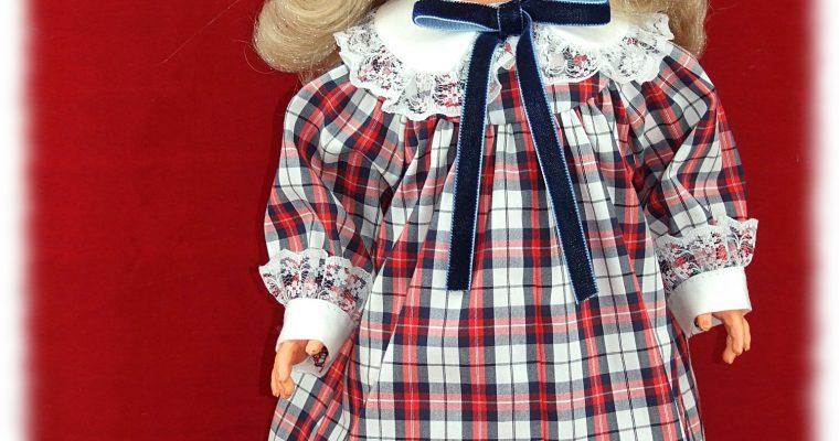 Octobre 1979 Tenue pour poupée Marie-Françoise, Françoise, Modes et Travaux