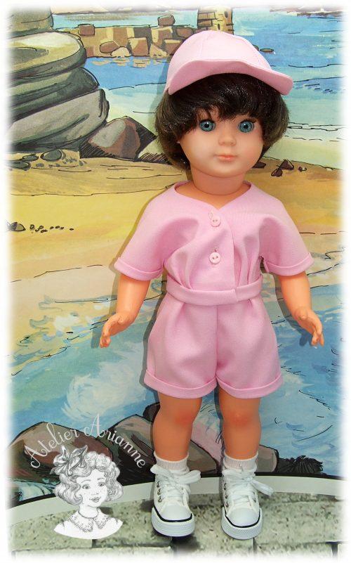 Mai 1954 Tenue pour poupée Marie-Françoise de Modes et Travaux