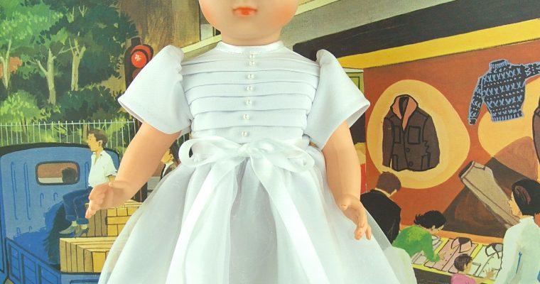 Solange tenue pour poupée Modes et Travaux Elisabeth