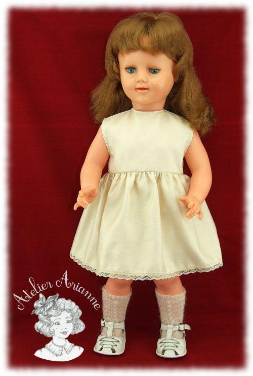 Reproduction de la tenue d'origine pour poupée SFBJ