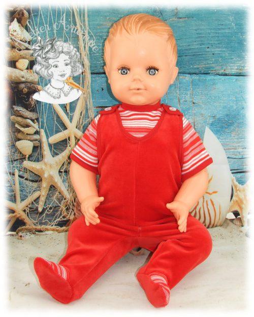 Reproduction de la tenue d'origine pour poupée Raynal 60 cm