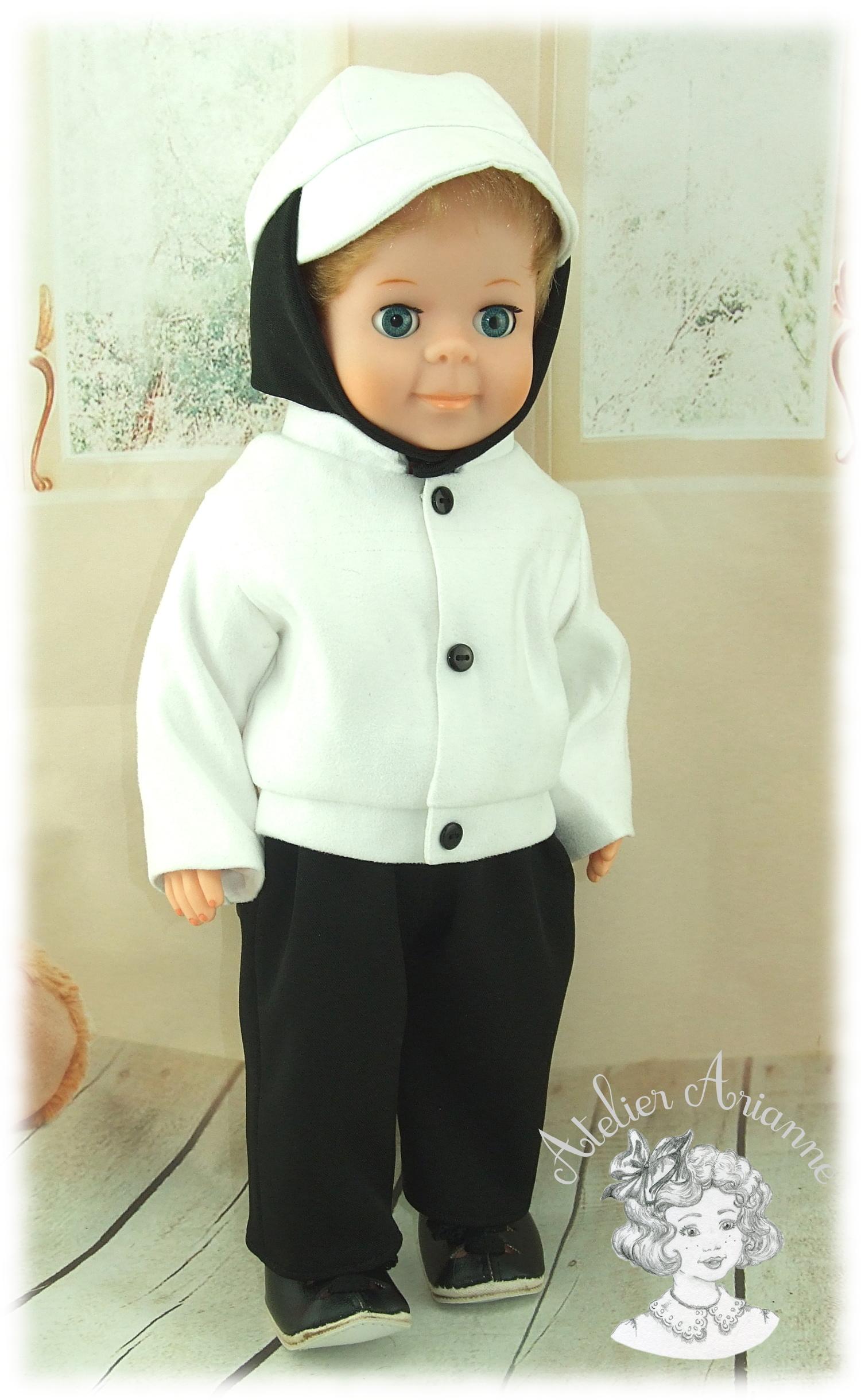 Tenue pour poupée Jean-Michel de Modes et Travaux Décembre 1970
