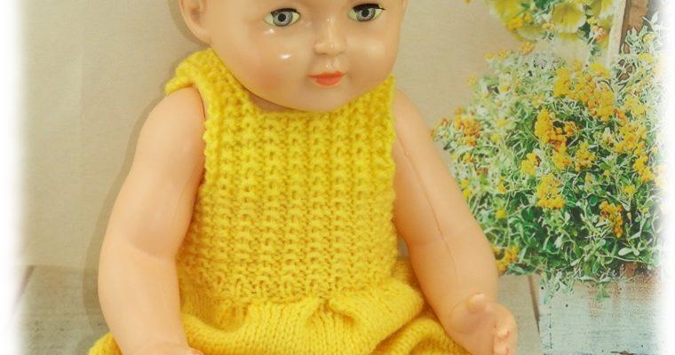 Tenue pour poupée Michel de Modes et Travaux Juillet 1956