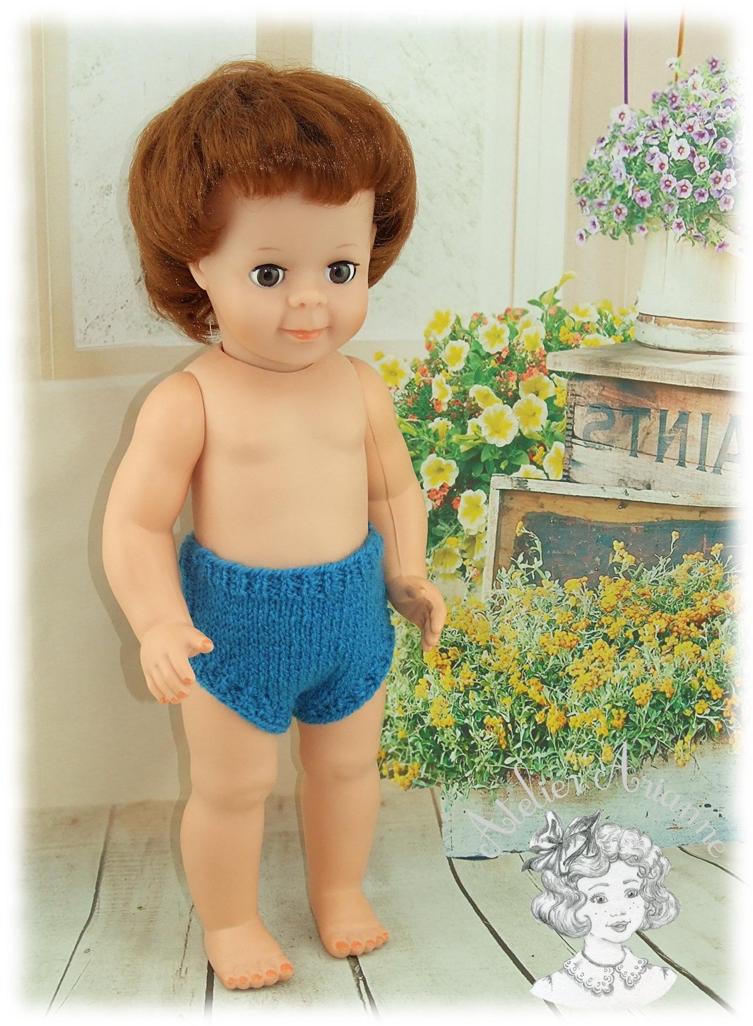 Tenue pour poupée Jean-Michel de Modes et Travaux Juillet 1974